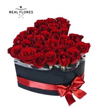 1293  Corazón de rosas!