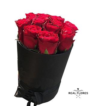 1302 Box rosas vermelhas.