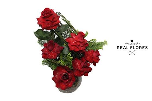 1490 Arranjo com rosas Premium