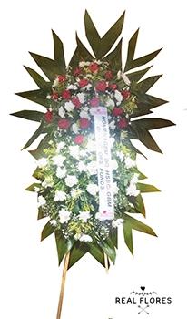 1509 Coroa de flores média I